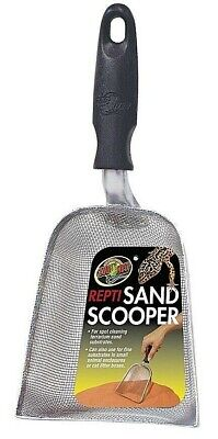 Zoo Med Repti Sand Scooper - Sand Substrate Reptile Pet Litter Poo Scoopers TA30 Repti Sand Substrate