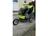 Child's Adventure double bike trailer