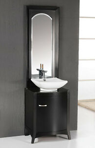 22 Solid Wood Modern Contemporary Design Bathroom Vanity Cabinet With Mirror