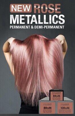 Kenra Permanent hair colour 10RoM Extra Light Blonde-Rose Metallic 85g Tube