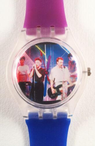New Order Blue Monday watch - Retro 80s designer watch