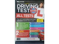 PC DVD ROM driving test Theory disc 2015 all tests
