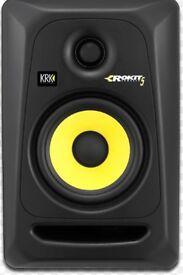 Krk rokit 5 monitors speakers / microphone