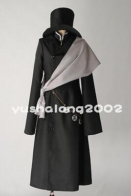 Kuroshitsuji ciel Black Butler Undertaker Shinigami Cosplay Kostüm costume (Shinigami Cosplay Kostüm)