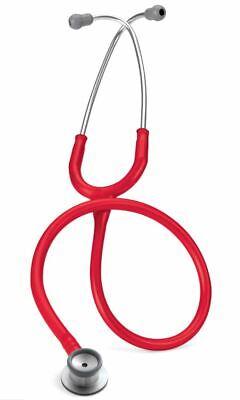 Littmann Classic Ii Infant Doctor Nurses Stethoscope Red Tube - Lit-2114r