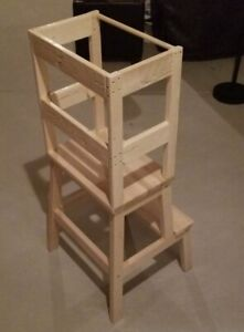 Toddler helper stool / learning tower