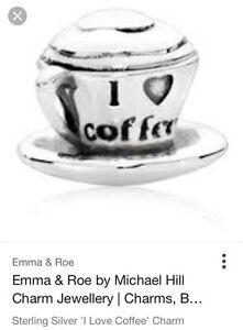 Michael Hill Charm Bead 'I Love Coffee' Emma & Roe Carrara Gold Coast City Preview