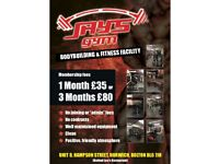 One to One Gym based training. Beginners through to advanced. Training guidance and dietary advice.