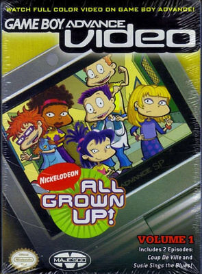 All Grown Up! vol. 1 GBA Video New Game Boy Advance