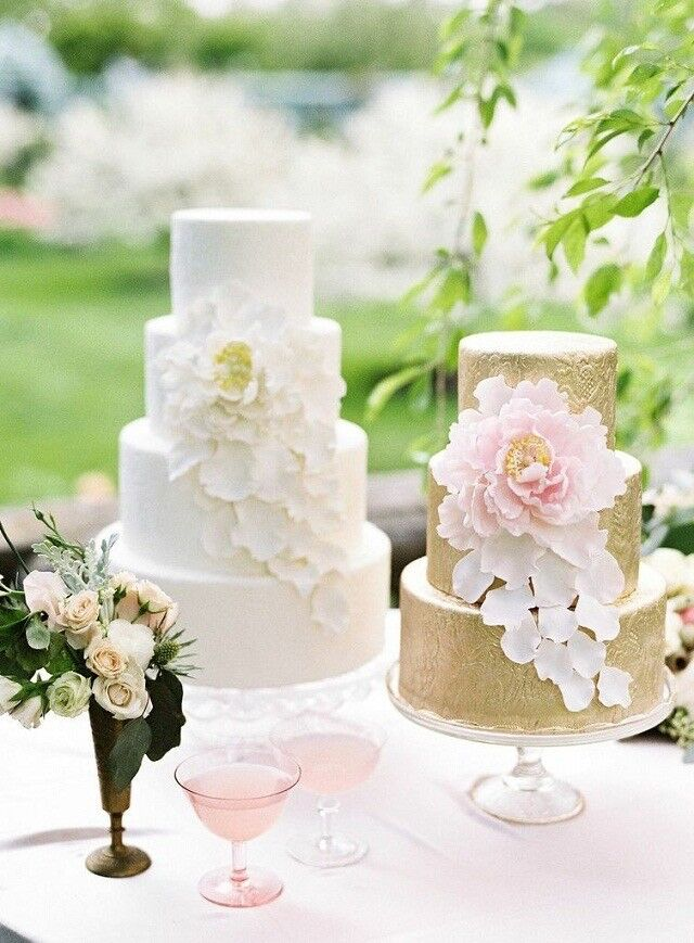 Sugar Flowers For Wedding Cakes (Collection Of 50 Flowers)