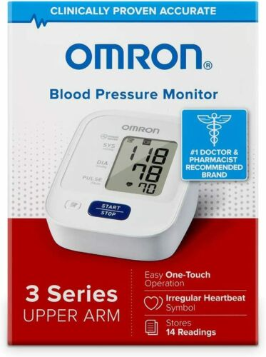 OMRON 3-SERIES UPPER ARM DIGITAL BLOOD PRESSURE MONITOR