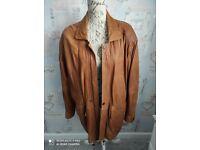 Gents 3/4 Length Leather Jacket