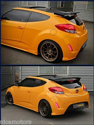 SPEC-GT Rear Trunk Wing Spoiler Unpainted For Hyundai Veloster 2011 2012 2013