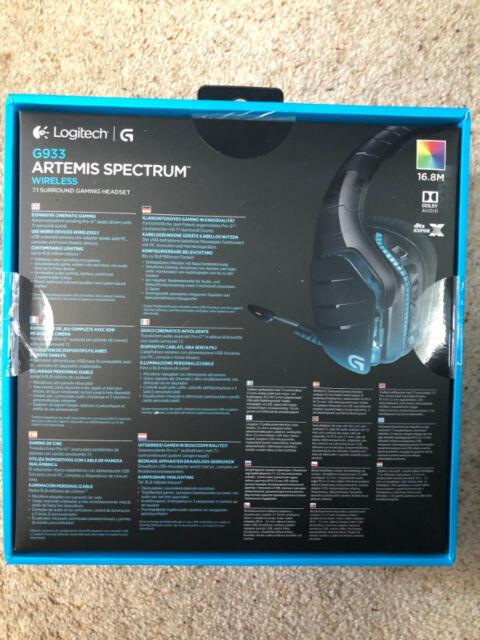 Logitech Artemis G933 7 1 Surround sound Wireless Headset PC/Xbox one/ PS4  | in Sutton Coldfield, West Midlands | Gumtree