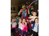 MAGICAN CLOWN Children's Party Entertainer SPIDERMAN Mickey Minnie MASCOT HIRE MASCOTS KIDS ROMFORD