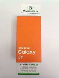 Samsung Galaxy J7 brand new sealed unlocked to all network. Under warranty