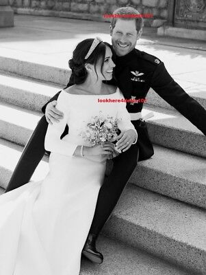 Royal Wedding Photo 8X10 Prince Harry Meghan Markle Official Royal Portrait