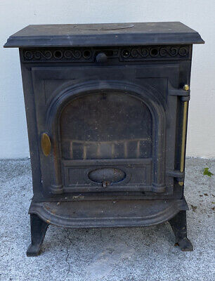 cast iron Multi Fuel stove Wood Burner 5kw