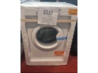 Brand new INDESIT 7kg washing machine with 1 year warranty and delivery