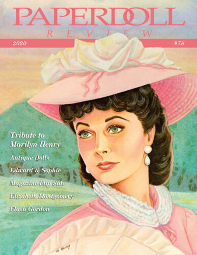 Paperdoll Review Magazine Issue #78, 2020 - Marilyn Henry Tribute and much more