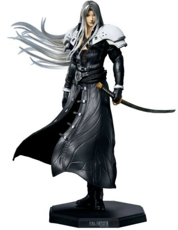 Final Fantasy 7 VII Remake Sephiroth Statuette Statue Brand New FF7 USA Seller