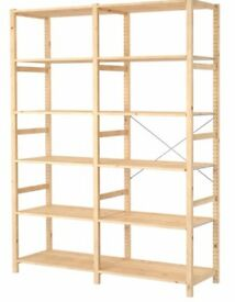 Wood Shelves Ikea IVAR, tall!