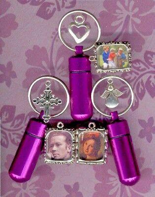 JG,Purple,Cremation Jewelry,Purple Rain,Keepsake Urn,Cremation Urn,Jewelry Urn