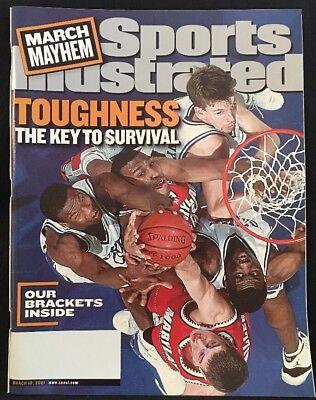 Illustrated Key (Sports Illustrated Magazine March Mayhem Toughness Key To Survival Mar 19, 2001 )