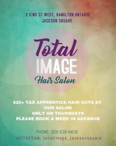 Total Image Salon Jackson Square- $20