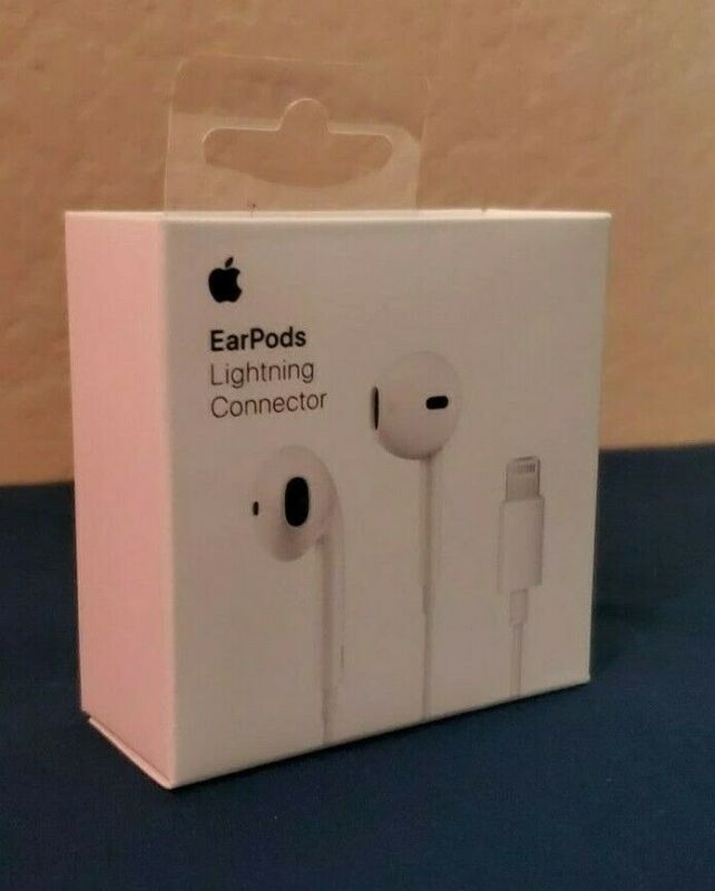 Apple EarPods Earphones For iPhone 7/8/10/11 Pro Max Remote & Mic OEM Authentic