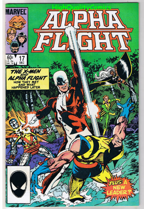 ALPHA FLIGHT #17, NM, Wolverine, John Byrne, X-men,1983, more in store