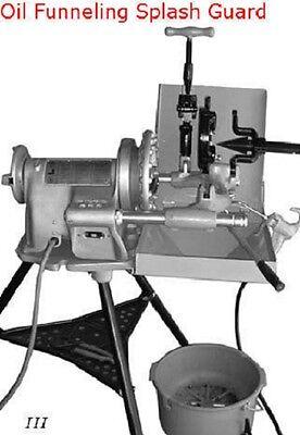 New Oil Splash Guard Funnel For Ridgid 300 Pipe Threader W811 Die Head Reamer