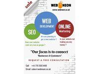 FREE Consultation   Modern Website Design   Online Marketing   SEO   From £99   UK wide service