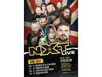 X2 Tickets to NXT @ Leeds Arena. (TONIGHT)