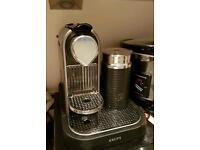 Nespresso Coffee Machine with Milk Frother