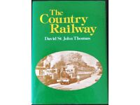 RAILWAY BOOK. THE COUNTRY RAILWAY BY DAVID ST JOHN THOMAS FOR SALE