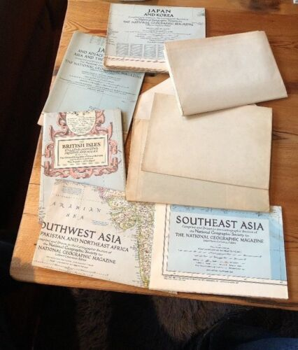 WWII Maps and more Lot of World Maps 1930