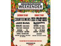 2x Neighbourhood Weekender Tickets - Sunday