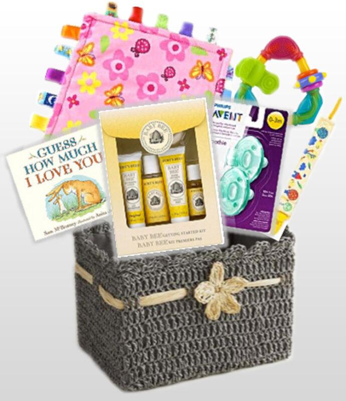 Baby Essentials Gift Basket- Best of Everything- Burt