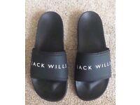 Jack Wills Sliders / Flip Flops - Size 9
