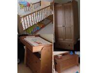 Nursery furniture set 4 piece