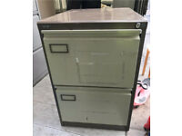 Roneo 2 draw filing cabinet