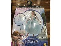 Elsa dress she 5-6 years