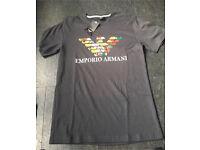 Armani men's tshirt medium new with tags