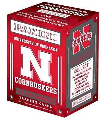 2015 Panini Nebraska Cornhuskers Multi Sport Retail Blaster Box Trading Cards