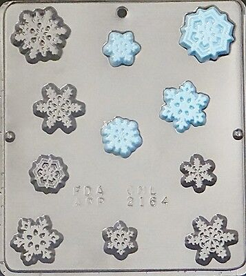 Snowflake Pieces FROZEN Movie Party Chocolate Candy Mold Christmas 2164 NEW](Christmas Chocolates)