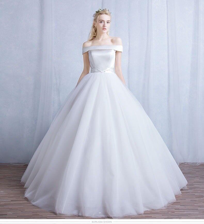 White ball-gown wedding dress | in Earls Court, London | Gumtree