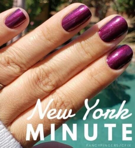 NEW CoLoR Street Nail Polish Strips New York Minute Retired Limited Freeshipping - $13.00