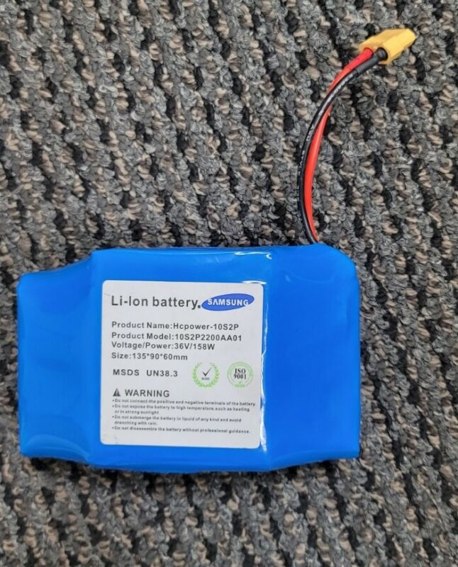 36V 4.4AH Lithium-Ion Battery For Balance Scooter Board 10S2P INR18650P GoodCang