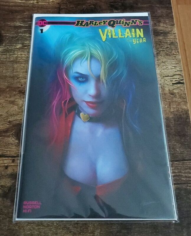 Harley Quinn Villain Of The Year 1 Exclusive Shannon Maer Trade Variant In Stock
